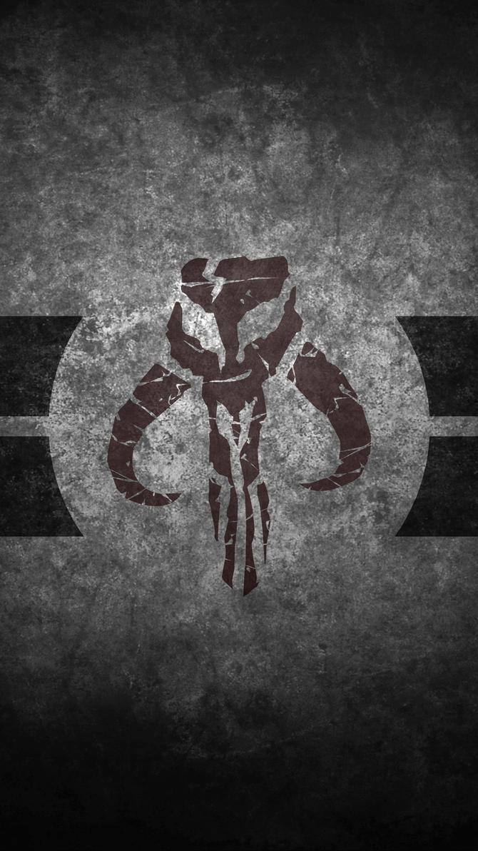 Mandalorian Skull Cellphone Wallpaper By Swmand4