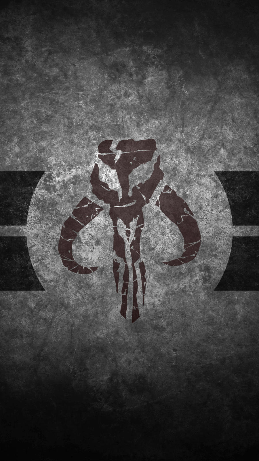 Mandalorian Skull Cellphone Wallpaper By Swmand4 On Deviantart