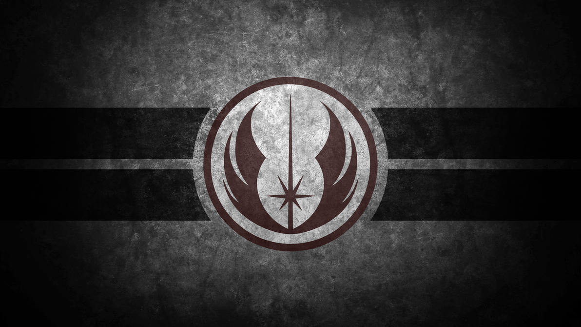 jedi order symbol desktop wallpaperswmand4 on deviantart