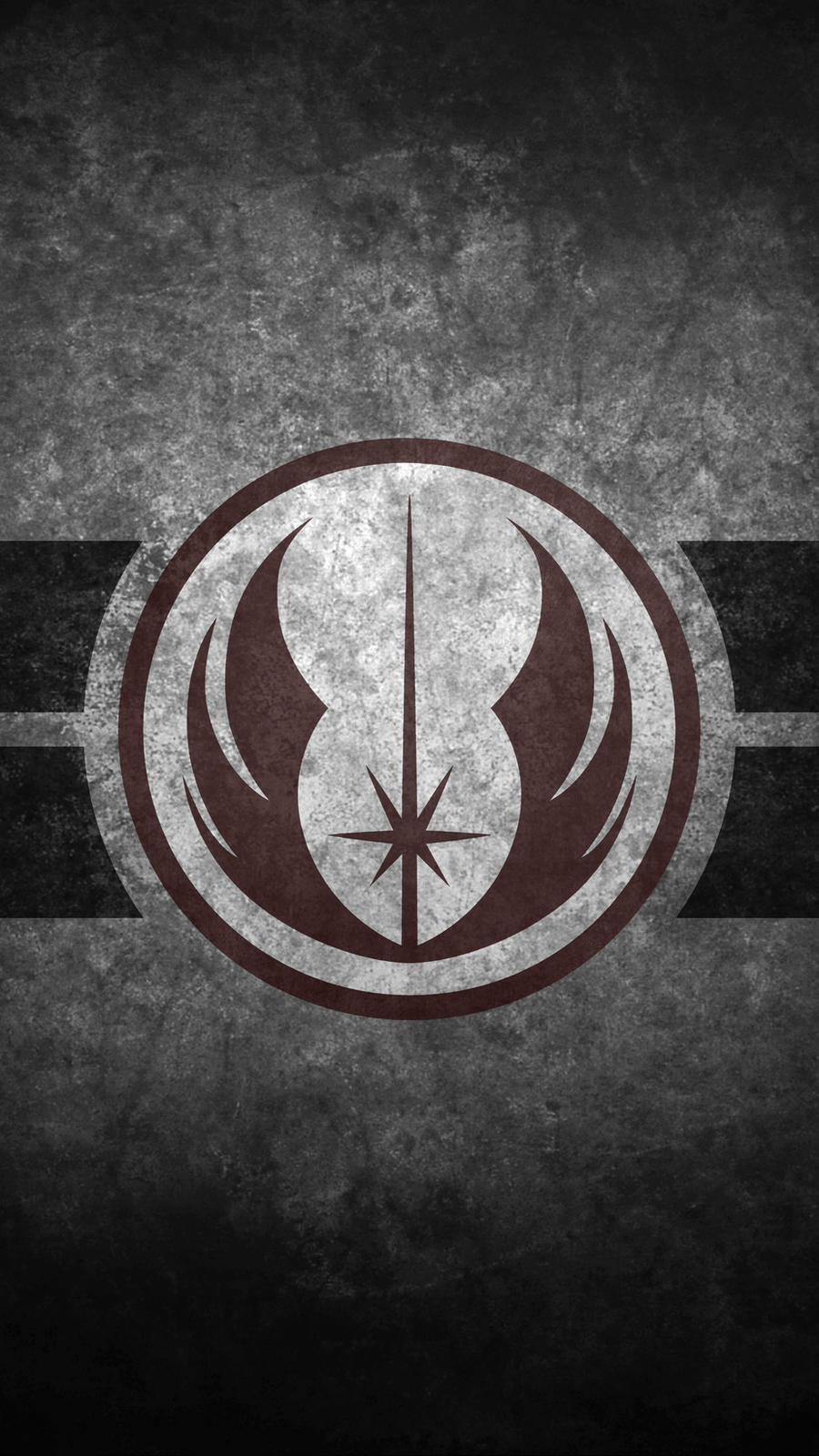 Jedi Order Symbol Cellphone Wallpaper by swmand4
