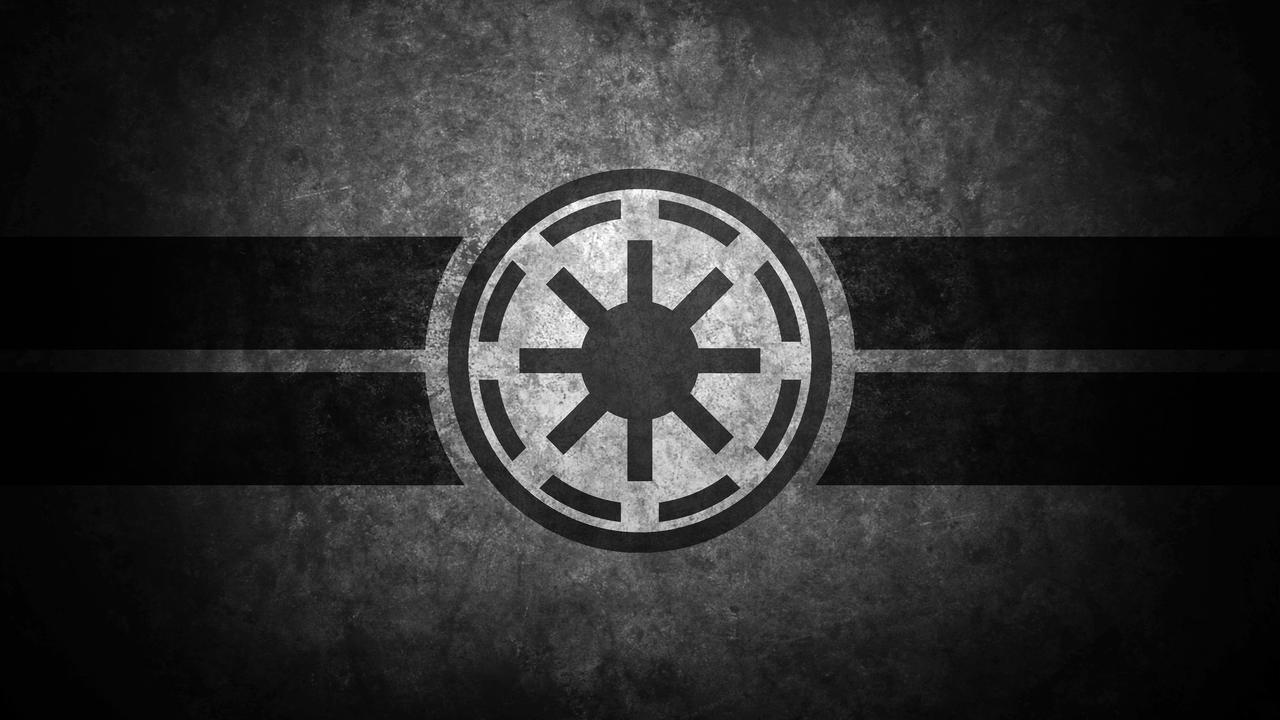 Galactic Republic Symbol Desktop Wallpaper
