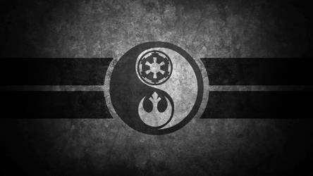 Star Wars Yin Yang Desktop Wallpaper by swmand4