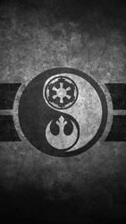 Star Wars Yin Yang Cellphone Wallpaper by swmand4