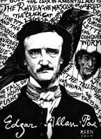 Edgar Allan Poe by magnetic-eye