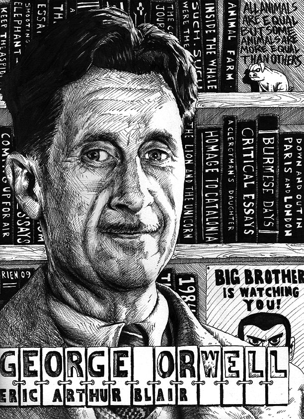 50 essays by george orwell The pen name george orwell was inspired by the river orwell in the english county of suffolk clink, an essay describing his failed attempt to get sent to prison, appeared in the august 1932 number of adelphi.