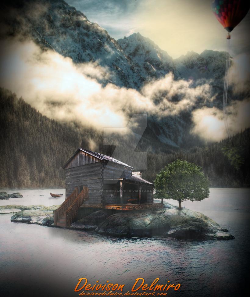 Casa No Lago by DeivisonDelmiro