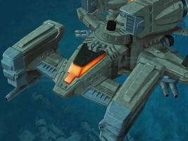ZOIDS - Hammerhead Ocean Patrol