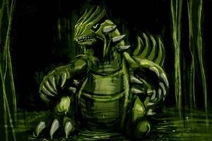 Groudon - Swamp Adaptation