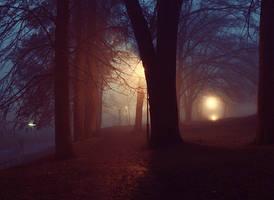 Night park 2 by FrantisekSpurny