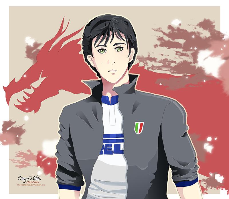 Diego Milito Inter Milan by Ichijouji