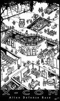 XCOM Alien Defense Base