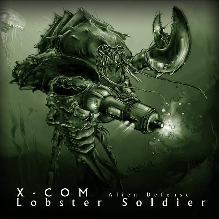 Lobster Man (XCOM:Terror From The Deep) vs Mutons (XCOM-EU ...