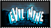 Evil Nine Stamp [Glossy Version] by darkdissolution