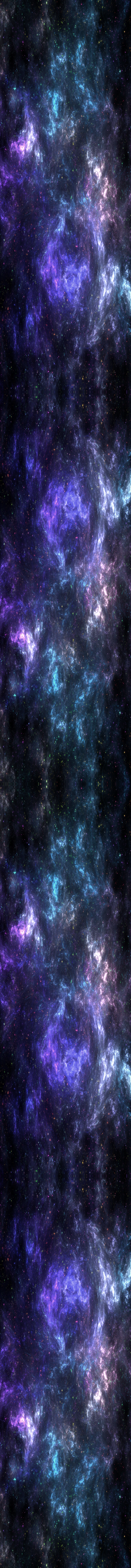 Cold Nebula RAINBOW STARS [Custom Box Background] by darkdissolution