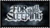 For All Those Sleeping Stamp [/With Black Border/] by darkdissolution