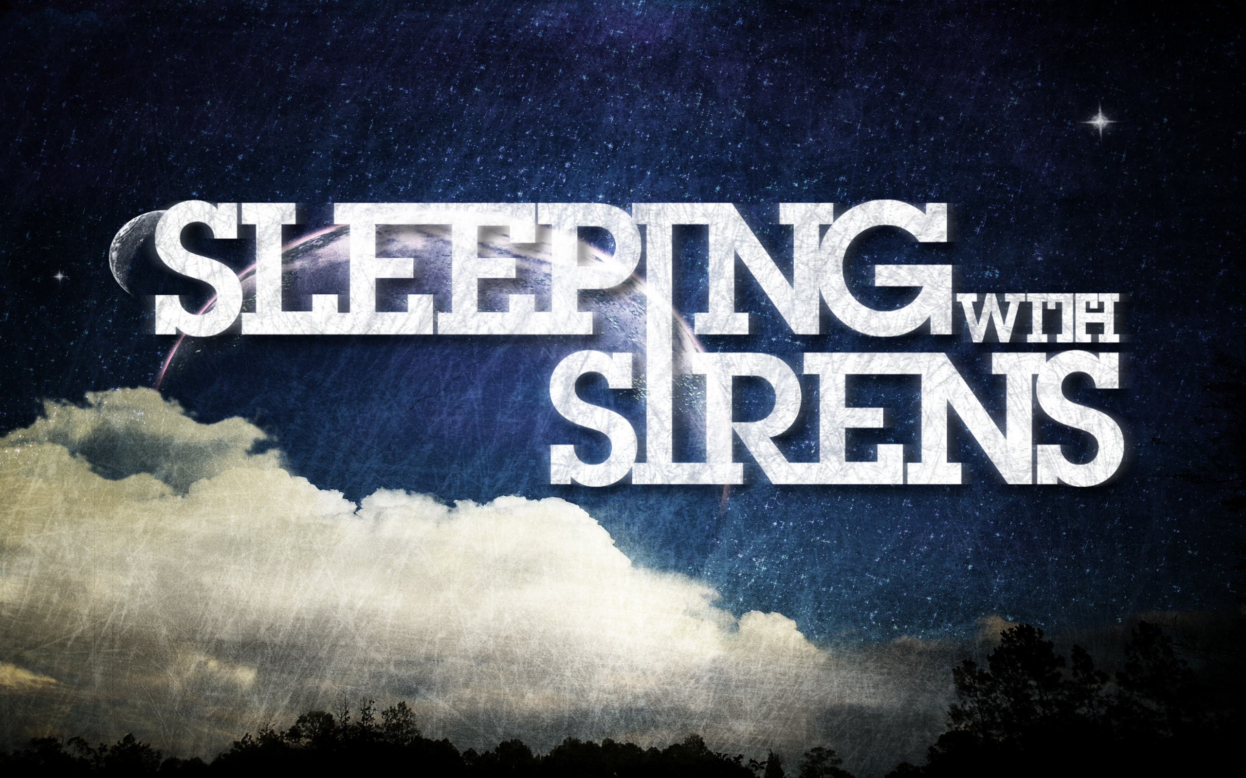 ... Sleeping with Sirens Wallpaper [w/Glow] by darkdissolution
