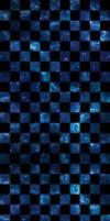 Blue and Purple Stars CHECKERED [Custom Box BG] by darkdissolution