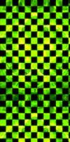 Toxic Checkered Fractal [Custom Box Background]
