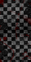 Black and White version with just blood.