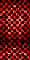 Checkered Blood Red Fractal [Custom Box BG]