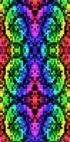 Rainbow Pixel Junk (Glow Version)