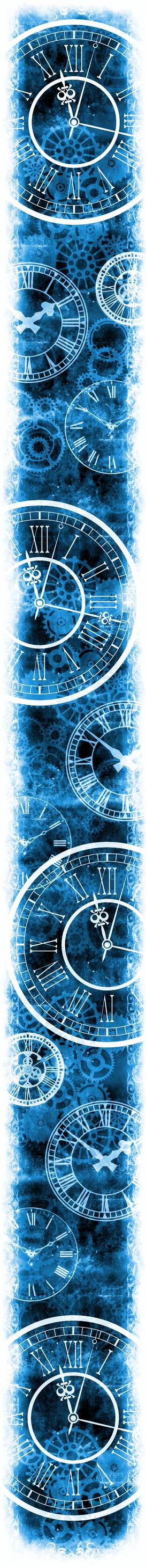 Only Time Will Tell [Custom Box BG] (Invert Blue)