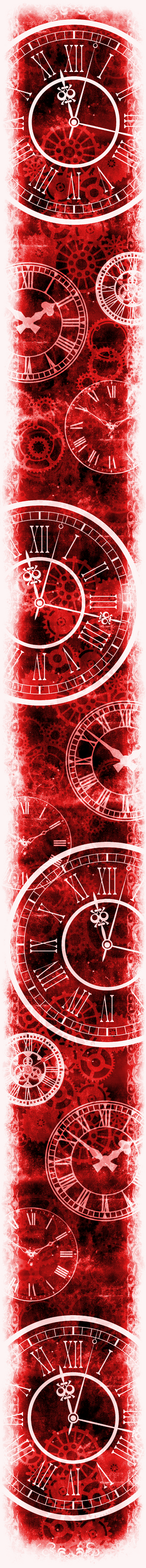 Only Time Will Tell [Custom Box BG] (Invert Red)
