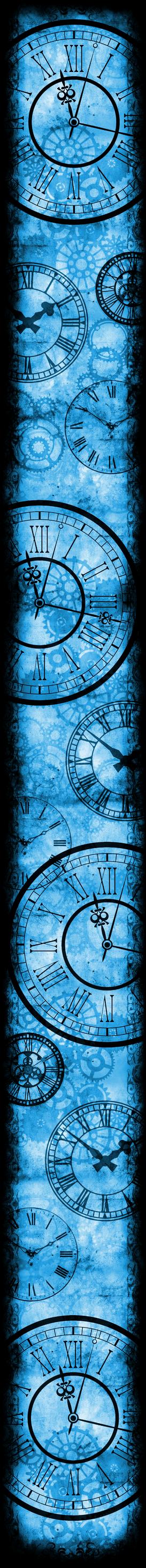 Only Time Will Tell [Custom Box BG] (Blue)