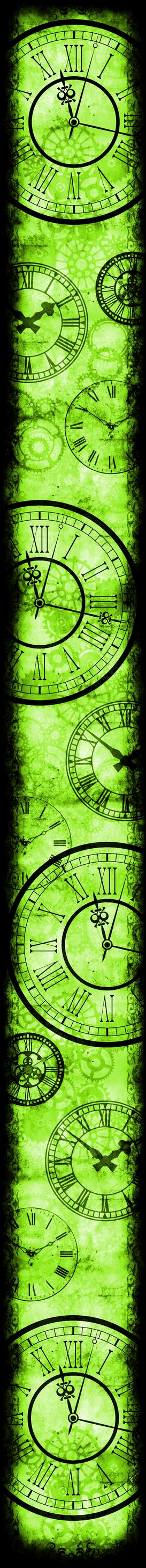 Only Time Will Tell [Custom Box BG] (Green)