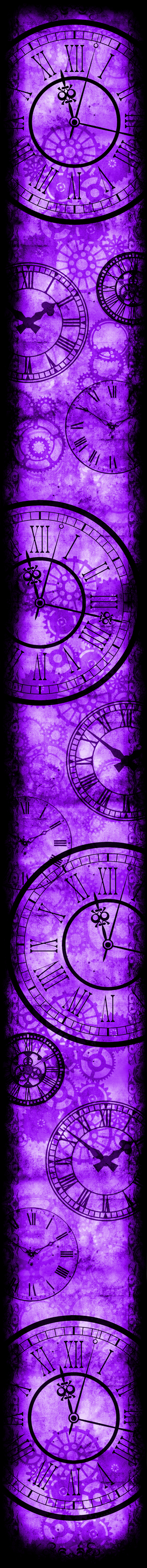 Only Time Will Tell [Custom Box BG] (Purple)