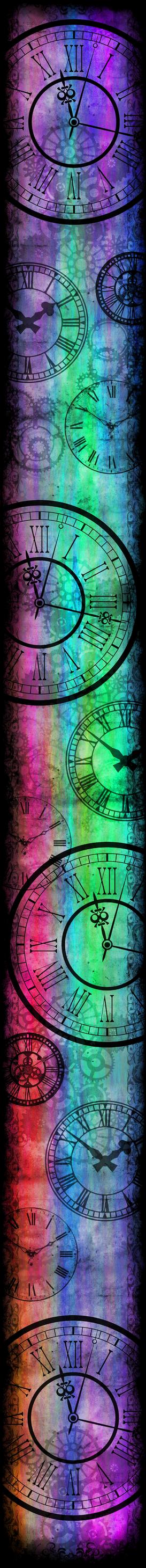 Only Time Will Tell [Custom Box BG] (Rainbow)