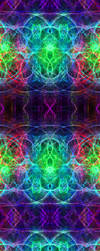Rainbow Fractal Custom Bactal by darkdissolution