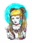 Usagi - Sailor Moon Fanart by Nedoesntsleep