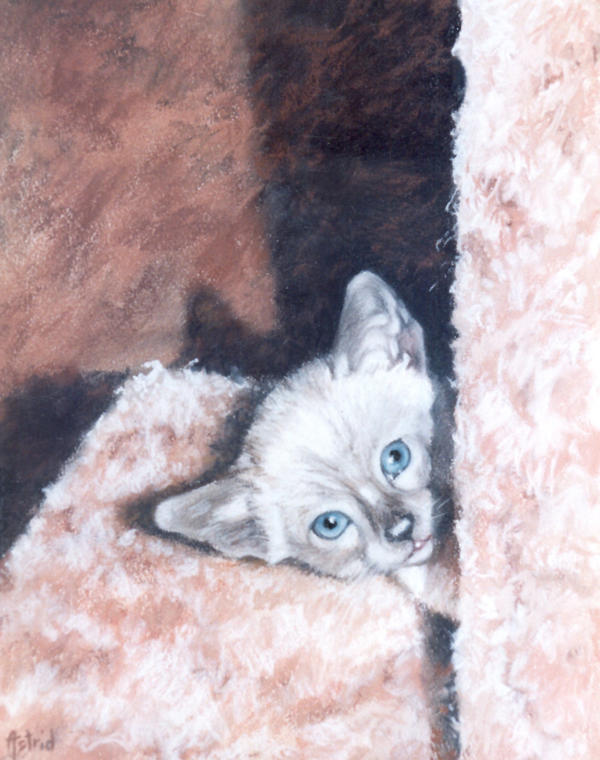 Peek-A-BOO - Pastel by AstridBruning