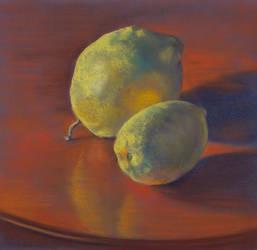 Lemon Duet - Pastel