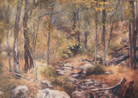 Bush Trek - Oil Painting by AstridBruning