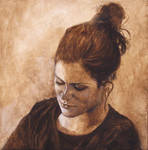 Contemplation-Acrylic Painting