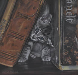 In-between books right now - PASTEL PAINTING