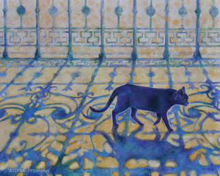 Walking on Sunshine - Painting by AstridBruning