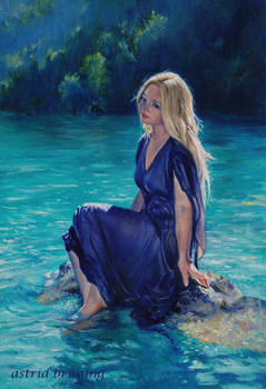 Lady of the Lake - Oil Painting