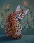 Loki - Oil Painting by AstridBruning