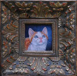 Clawed (Monet) - Miniature Oil Painting
