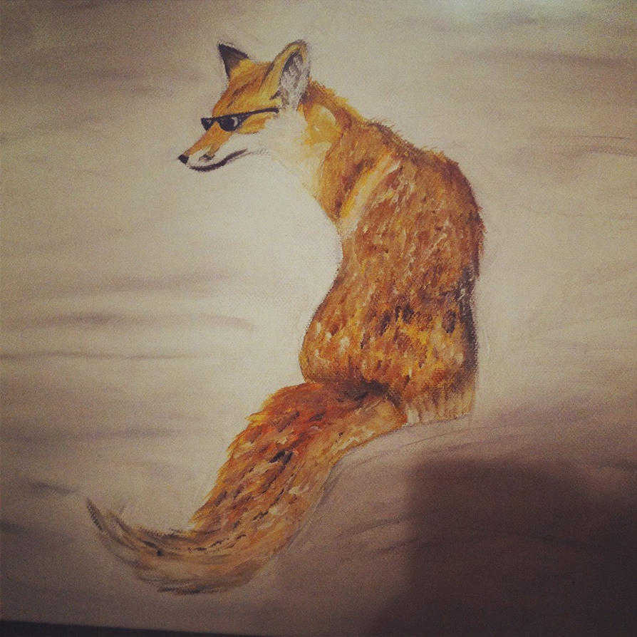 Cool fox by letsliedownwithlions on deviantart for Cool fox drawings