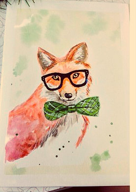 Hipster Fox is Hipster! by Letsliedownwithlions - 28.7KB