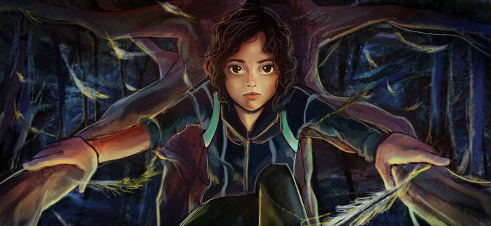 Rue - The Hunger Games by Patsie