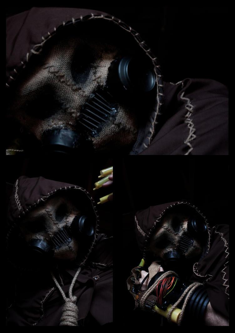 Batman Arkham Asylum - Scarecrow Costume (MK1) by Pembo-Props