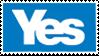 Yes stamp by YesScotlandplz