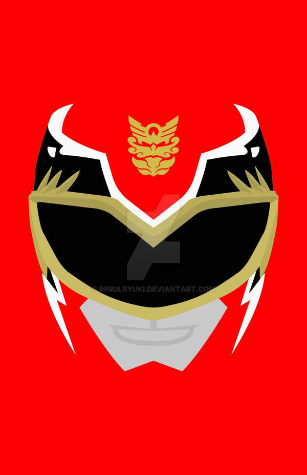 Power Rangers Megaforce Red By Mirulryuki On Deviantart