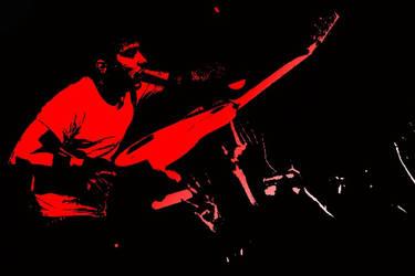 Corel PhotoPaint - Frank Iero by DemolitionLover14