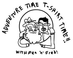 Adventure Time T-shirt Time
